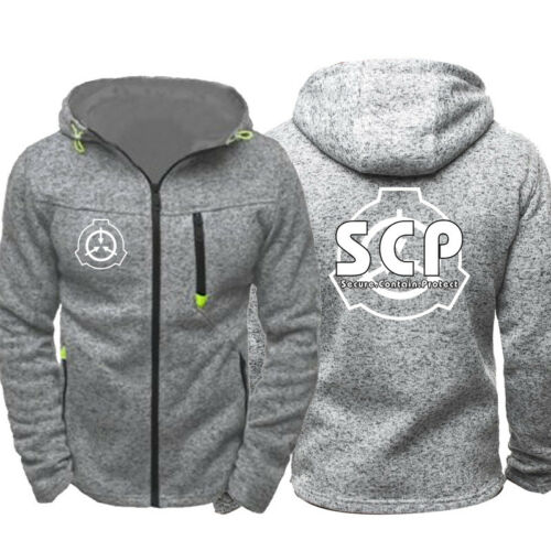 2019 Thin Hoodies SCP Foundation Secure Contain Protect Logo Sweatshirt Coat HOT