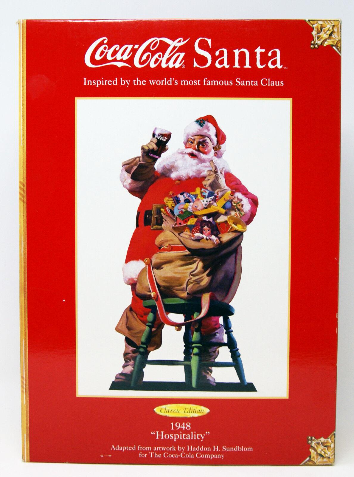 Mattel - Coca Cola - Classic Edition - Santa 1948 ''Hospitality'' - 1999