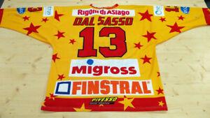 Maglia-gialla-originale-indossata-da-13-Davide-Dal-Sasso-nella-stagione-2019-20