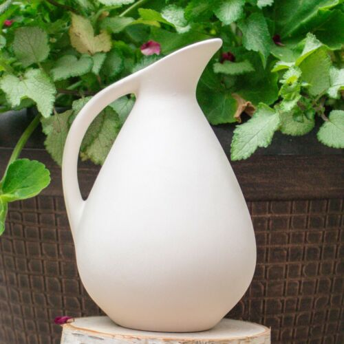 Smooth Jug 6x4  IN STOCK Ceramic Bisque Ready To Paint Pottery White