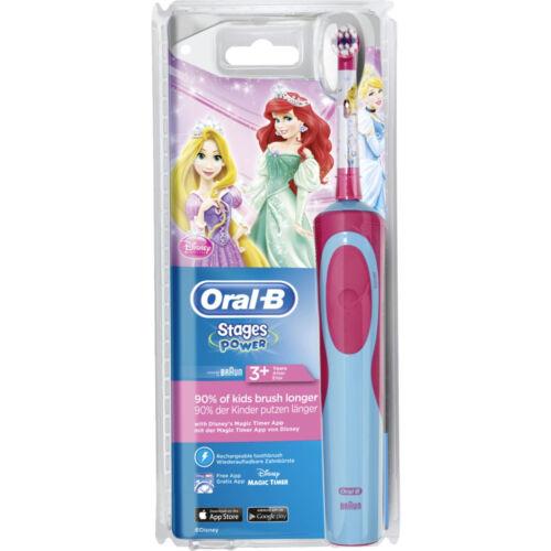 Oral-B Stages Power Bambini Principessa Disney Bambini Ricaricabile Spazzolino Elettrico