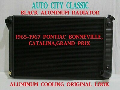3Row Aluminum Radiator For Pontiac Bonneville /& Catalina 61-66// Grand Prix 62-64
