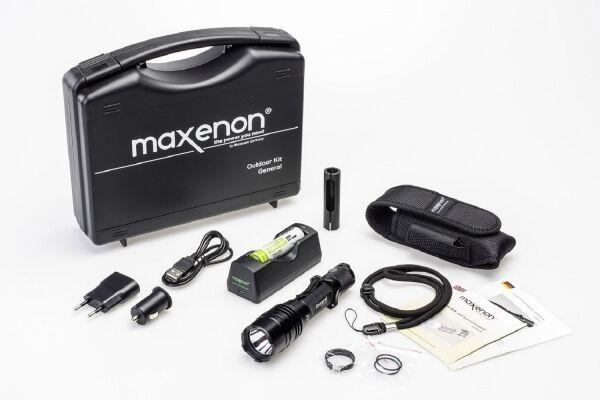 Maxenon MS2201 General Outdoor-Set; 1050 Lumen Jagdlampe Jäger Jagd  | Sale Online Shop
