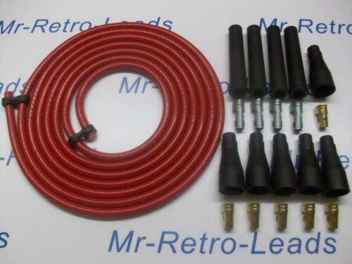 Rouge 8.5MM performance ignition lead kit pour les 4 cil kit voiture 3 mètres qualité...