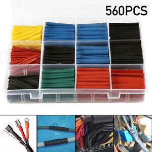 560Pc 2:1 Heat Shrink Tubing Tube Sleeve Kit Assortment Electrical ...