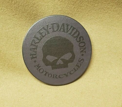 Harley Davidson Skull Stone Logo Coaster 4-pack Set w// Free Shipping