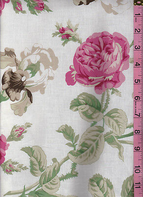 Flirt Rose Floral Fabric by Robyn Pandolph 1 yard by Westminster Fabrics