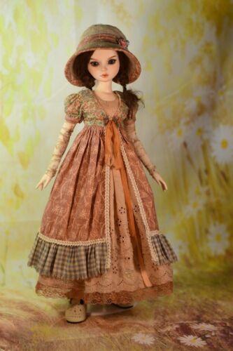 PDF Dress Pattern Fits Fairyland Minifee Ellowyne Slim 1//4 MSD BJD Dolls