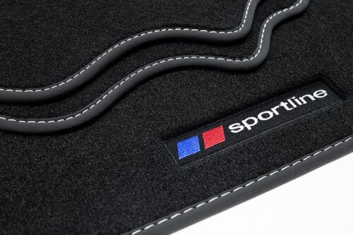 Sportline Fußmatten für Toyota Yaris 3 III Bj 2010