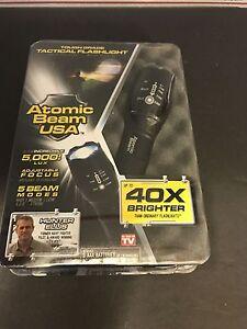 Atomic Beam Usa Tough Grade Focusing Tactical Flashlight 5