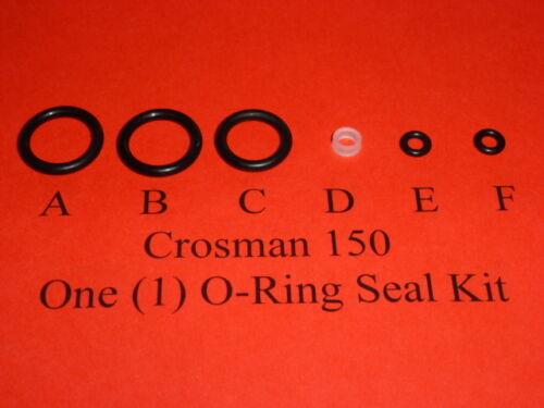 Crosman Model 150 Pistol One  Complete O-Ring  Seal Kit  .22 cal.