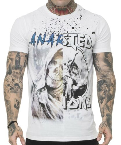 anarchy Tee Blanc Homme Clothing shirt Religion Nouveau PaFqYB