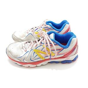 New-Balance-1080v4-Running-Shoes-Womens-9-White-Pink-W1080WP4-Read-Details