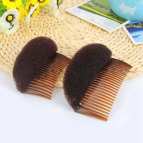 Volume Inserts Hair Clips Bump It Up Bouffant Hair Comb Bun Maker Accessories