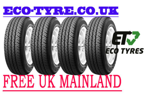 4x Tyres 185 75 R16C 104//102T 8PR Roadstone CP321 Van C C 72dB Deal of 4 Tyres