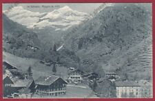 VERCELLI ALAGNA VALSESIA 232 Cartolina viaggiata 1930 Edizione ZANFA