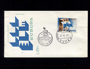 OPC 1963 San Marino Europa FDC Sc#571