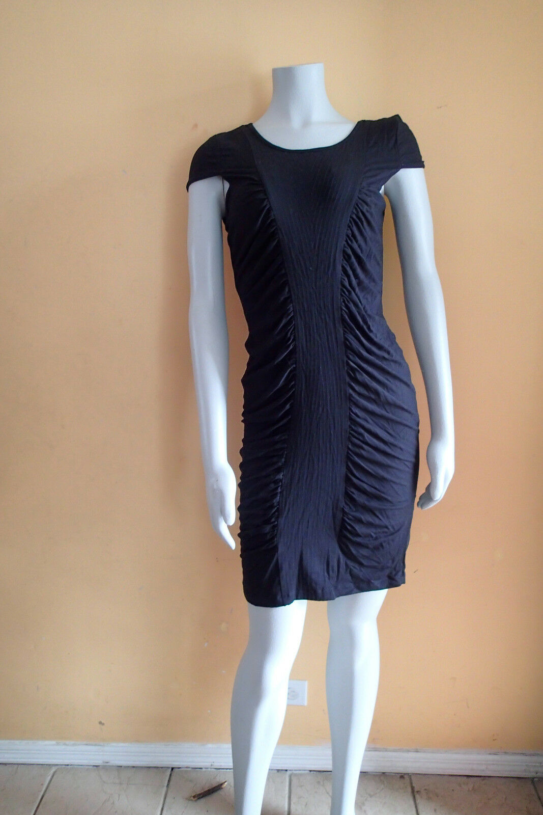 295  catherine malandrino dress  sz L,schwarz , SLEEVELESS be