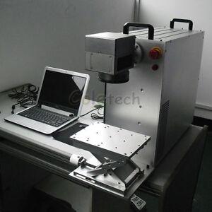 20w Mopa Fiber Laser Machine Engraving Aluminum Black