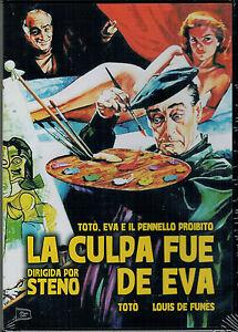 La-culpa-fue-de-Eva-Toto-Eva-e-il-pennello-proibito-DVD-Nuevo