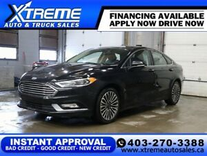 2017 FORD FUSION SE AWD * $0 DOWN $109/BW! APPLY NOW