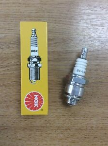 2 x NGK BMR6A SPARK PLUG LAWNMOWER CHAINSAW TRACTOR GENERATOR with resistor