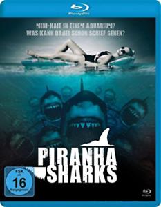 LEIGH,SCOTT-PIRANHA SHARKS (BLU-RAY) - (GERMAN IMPORT) (US IMPORT) BLU-RAY NEW