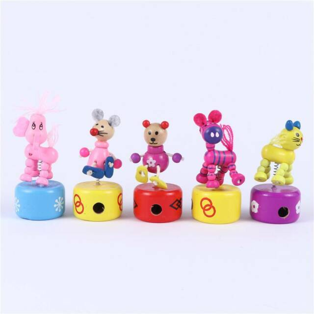 Creative Cute Cartoon Puppet Wooden Pencil Sharpener Student Stationery Gift