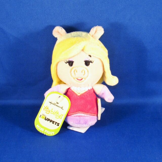 Hallmark - Itty Bittys - The Muppets - Miss Piggy - Small Plush - NEW