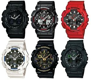 Casio-G-Shock-Dual-Display-Chronograph-Resin-Strap-Gents-Watch