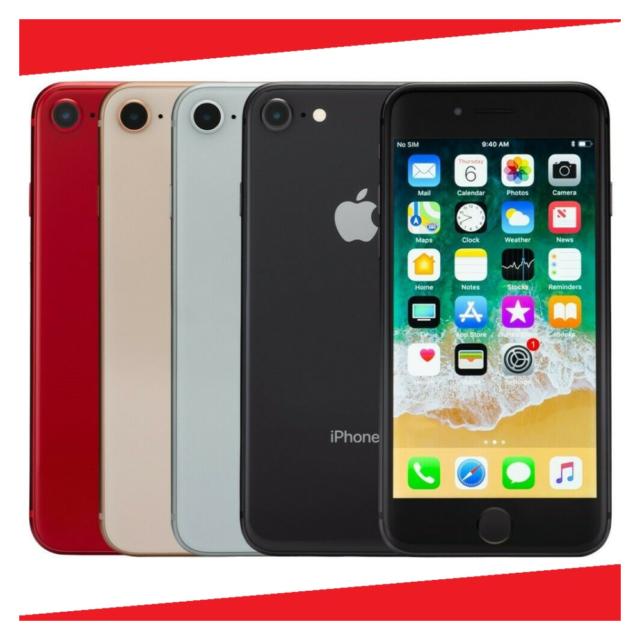 Apple iPhone 8 64GB Unlocked/ Verizon/ AT&T/ Straight talk/ Sprint 4G LTE Smart