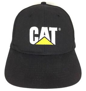 fd097965b669e Image is loading CAT-Hat-Caterpillar-Cap-Logo-Trucker-Embroidered-Strapback-