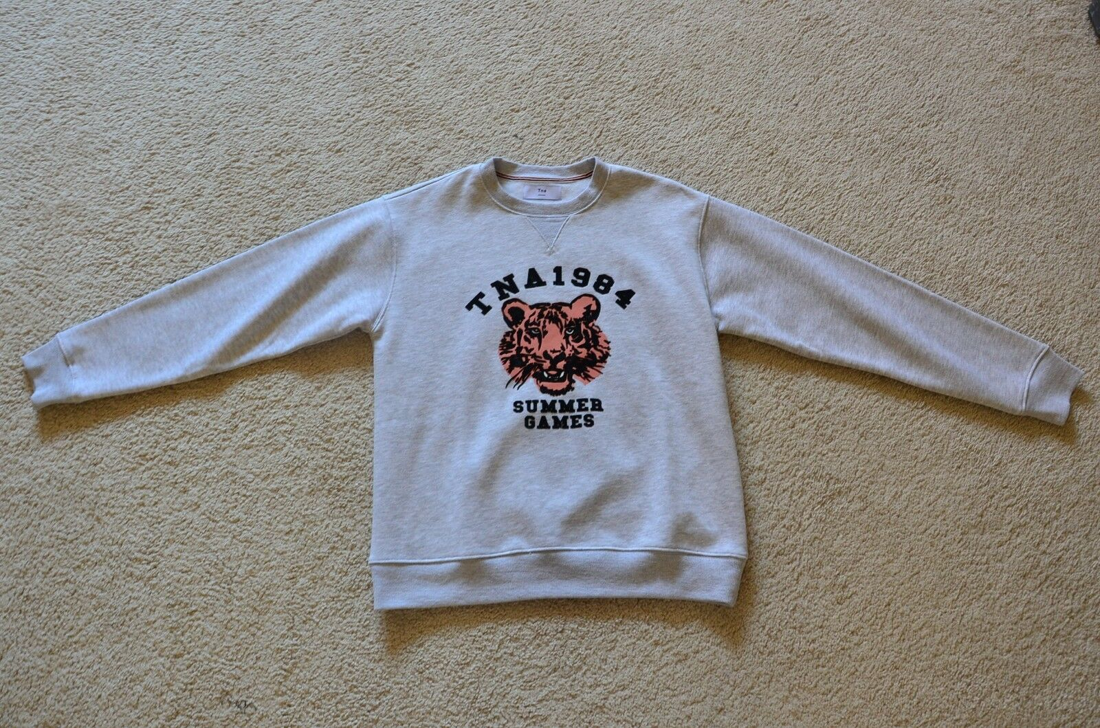 TNA 1984 Summer Games Sweat Shirt Size  S