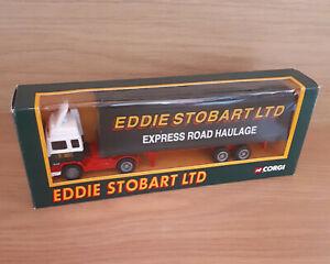Eddie Stobart 1994 Collecteur adulte de camion porte-conteneur Volvo moulé sous pression appartenant à 74299913518