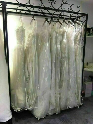 Wedding Dress Garment Bags Storage Bridal Gowns Dust Proof Cover Size Large New