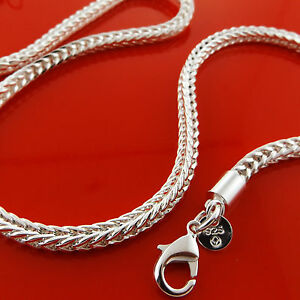 FSA902-GENUINE-REAL-925-STERLING-SILVER-S-F-MENS-LADIES-CHAIN-NECKLACE-CHAIN