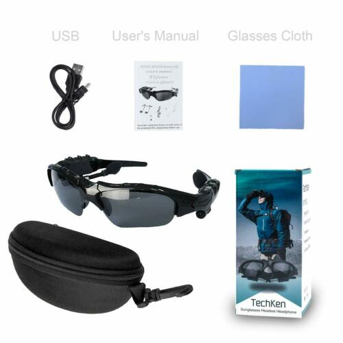 Audifonos bluetooth lentes para el sol Manos libres.conta agua Maneja seguro