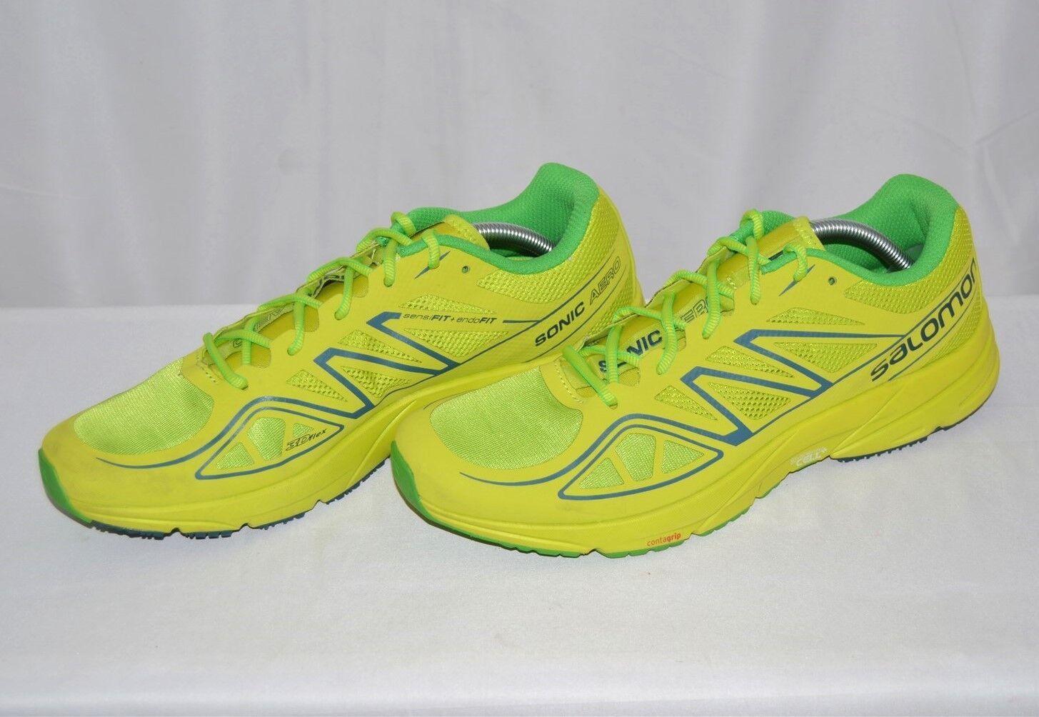 Salomon Men's Sonic Aero Running shoes, Men's 11, 393495 Pre-Owned