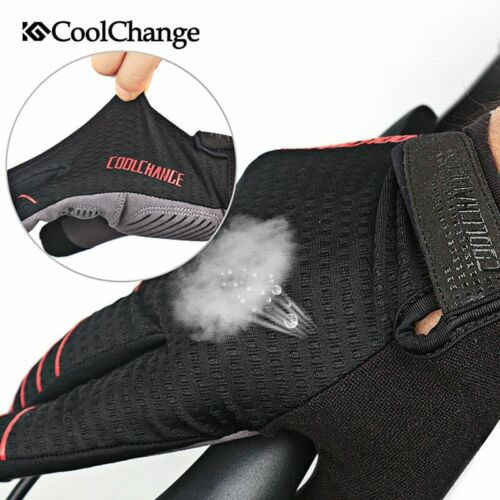 Details about  /Gloves Cycling Gel Pad Long Sport MTB Bike Touch Screen Shockproof Full Finger