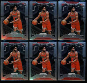 LOT-OF-6-COBY-WHITE-2019-20-PANINI-PRIZM-253-ROOKIE-RC-BASE-FC5897