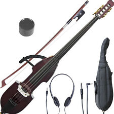 NEW CECILIO ELECTRIC SILENT 3/4 UPRIGHT DOUBLE BASS