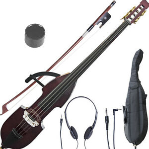 NEW-CECILIO-ELECTRIC-SILENT-3-4-UPRIGHT-DOUBLE-BASS