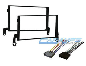 1998 f150 stereo wiring harness 1997-1998 f-150 double 2 din car stereo radio installation ... #2