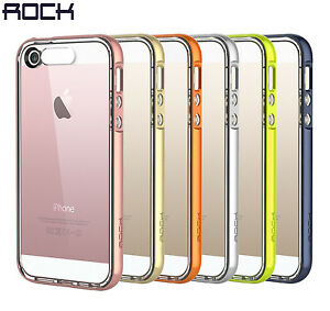 reputable site ff87e f391e Details about iPhone SE Case ROCK® [Light Tube Series] Hybrid Case Cover  for iPhone SE/5S