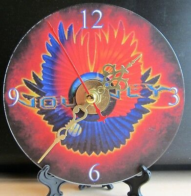 Brand New STYX Crystal Ball CD Clock Music Rock and Roll Classic Rock