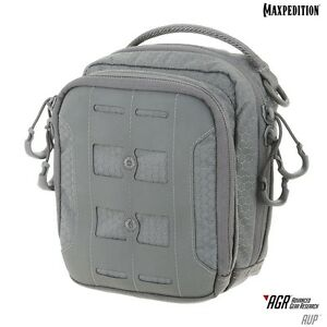 Maxpedition-AUPGRY-AUP-Accordion-Utility-Pouch-Gray