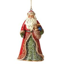 Jim Shore Heartwood Creek Victorian SANTA Christmas  Hanging Ornament 4047682
