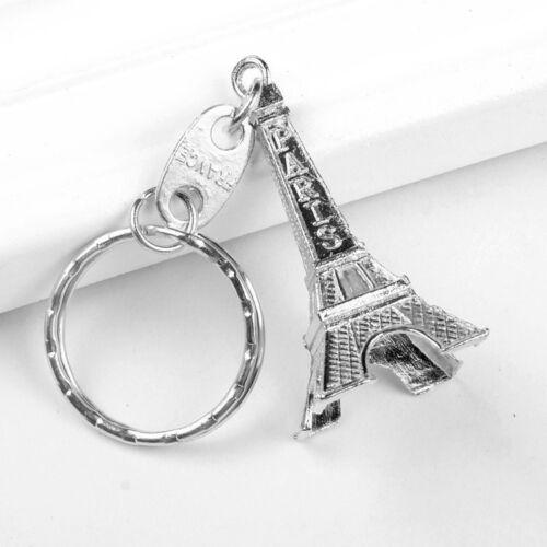 Mini Paris Tour Eiffel modèle Keychain Porte-clés Porte-clés Cadeau Clé Anneau Fendu