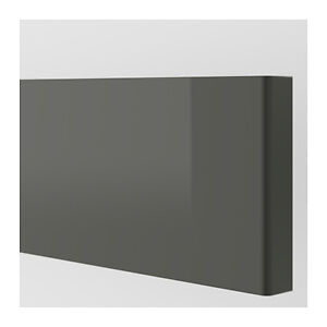Ikea Ringhult High Gloss Grey kitchen drawer front 40x20cm 602.374.72