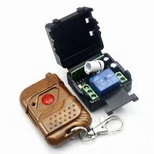 DC 12v 10A relay 1CH wireless RF Remote Control Switch